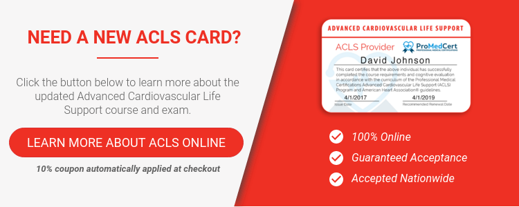 How Long Does An Online ACLS Certification Course Take?
