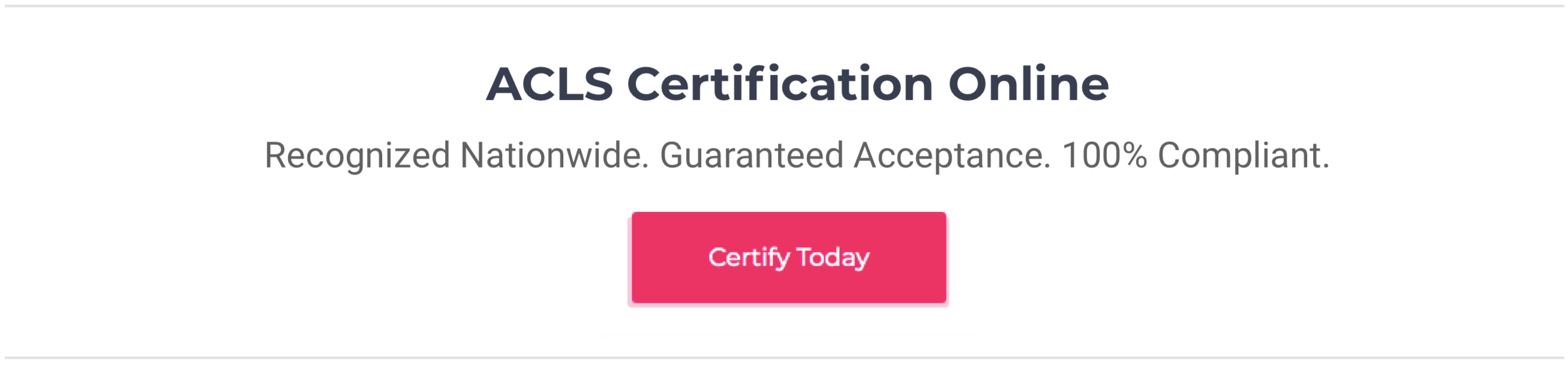 How Long Does An Online Acls Certification Course Take