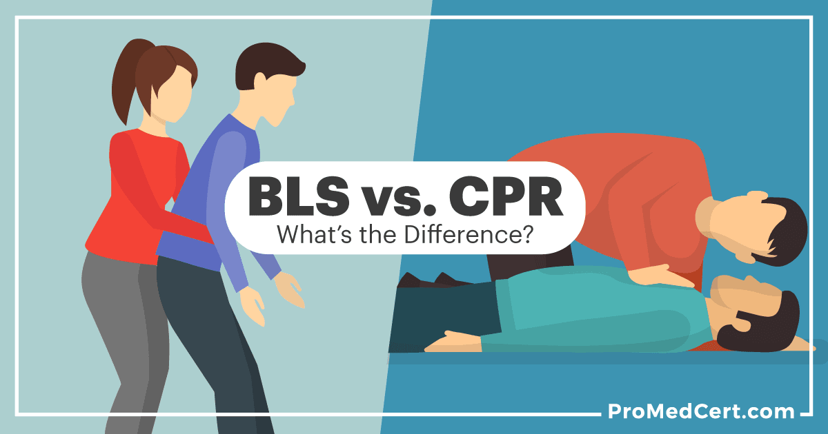 cpr bls vs difference