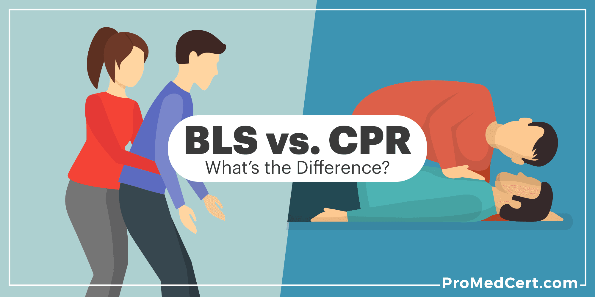 Bls Vs Cpr Whats The Difference