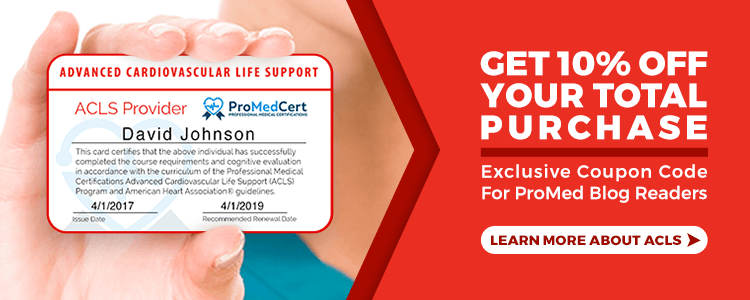 ProMed Certifications | ACLS Certification Online